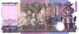CAMBODIA P. NEW 15000 R 2019 UNC - Cambogia