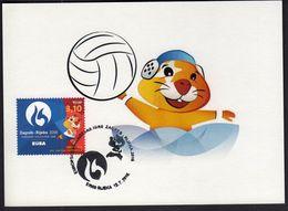 Croatia Rijeka 2016 / Water Polo / European Universities Games / Mascot HRKI / MC / Sport - Water Polo