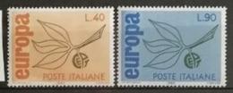 Italie 1965 / Yvert N°928-929 / ** - 6. 1946-.. Repubblica