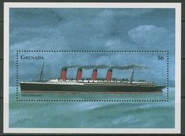 "Grenada 1998 Seefahrt Schiff ""Lusitania"" Block 485 Postfrisch (C95674) - Grenada (1974-...)"