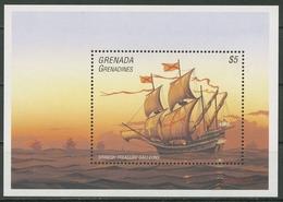 Grenada-Grenadinen 1995 Segelschiffe Galeone Block 341 Postfrisch (C95682) - Grenada (1974-...)