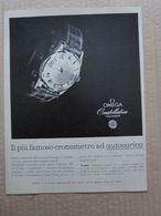 - ADVERTISING PUBBLICITA' OMEGA COSTELLATION - 1961 - Reclame