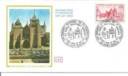 Cathédrale De Saint Brieux1er Jour - 1990-1999