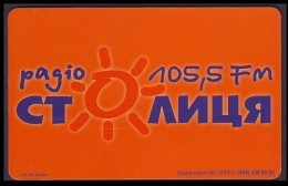 "UKRAINE 2003. KIEV. ""STOLITSA"" RADIO 105,5 FM. 3360 Units - Ukraine"