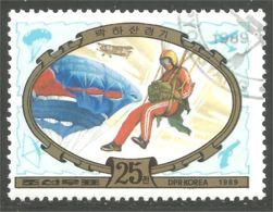 548 Korea Parachute Parachutiste Paratrooper Paracadute Paraca�das (KON-72) - Parachutting