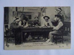 CPA 03  LE BOURBONNAIS Le Repas De Midi Tenue Du Folklore 1909 TBE - Non Classificati