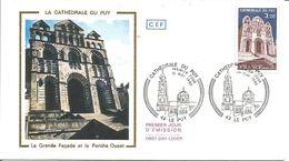 Cathédrale Du Puy 1er Jour - 1990-1999