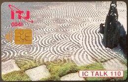Telefonkarte Japan - IC Talk - Chip - Japon