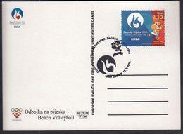 Croatia Zagreb 2016 / Beach Volleyball / European Universities Games EUSA / Mascot HRKI / Sport - Pallavolo