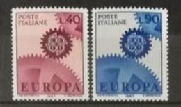 Italie 1967 / Yvert N°968-969 / ** - 6. 1946-.. Repubblica