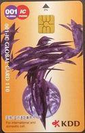 Telefonkarte Japan - IC Talk - KDD - Chip - Kunst - 110 - Japon