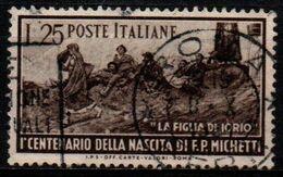 Italia Repubblica 1951 - Francesco Paolo Michetti - 25 Lire Usato - 1946-60: Usati