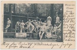Weisser Hirsch (bei Dresden) Kegelbahn Im Luftbad 1905 (D140) - Sonstige