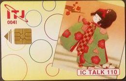 Telefonkarte Japan - IC Talk  - Chip - Puppe - Japon