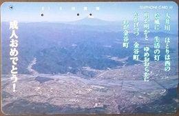 Telefonkarte Japan - Landschaft - 290-25656 - Japon