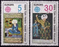 Turquie (Adm. Chypre) - Europa CEPT 1980 - Yvert Nr. 73/74 - Michel Nr. 83/84 ** - 1980