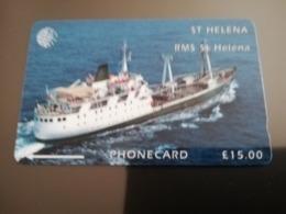 ST . HELENA GPT  RMS St HELENA  5CSHC  15 POUND MINT New  Logo C&W ** 2935** - Sainte-Hélène