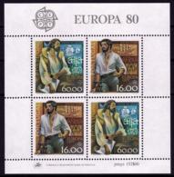 Portugal BF - Europa CEPT 1980 - Yvert Nr. BF 30 - Michel Nr. Block 29  ** - 1980