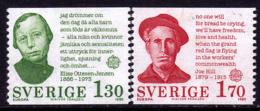 Suède - Europa CEPT 1980 - Yvert Nr. 1088/1089 - Michel Nr. 1106/1107  ** - 1980