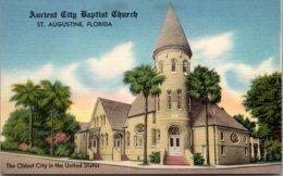 Florida St Augustine Ancient City Baptist Church - St Augustine