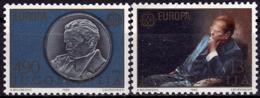Yougoslavie- Europa CEPT 1980 - Yvert Nr. 1711/1712 - Michel Nr. 1828/1829  ** - 1980