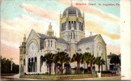 Florida St Augustine Memorial Chapel 1911 - St Augustine