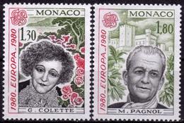 Monaco - Europa CEPT 1980 - Yvert Nr. 1224/1225 - Michel Nr. 1421/1422 ** - 1980