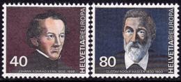 Suisse - Europa CEPT 1980 - Yvert Nr. 1104/1105 - Michel Nr. 1174/1175  ** - 1980