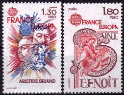 France - Europa CEPT 1980 - Yvert Nr. 2085/2086 - Michel Nr. 2202/2203  ** - 1980