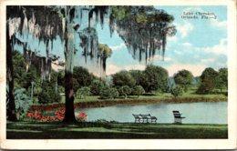 Florida Orlando View Along Lake Cherokee 1922 - Orlando
