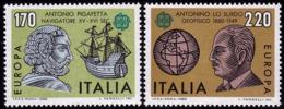 Italie - Europa CEPT 1980 - Yvert Nr. 1418/1419 - Michel Nr. 1686/1687  ** - 1980