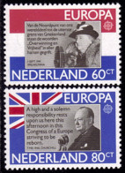 Pays Bas - Europa CEPT 1980 - Yvert Nr. 1138/1139 - Michel Nr. 1168/1169  ** - 1980