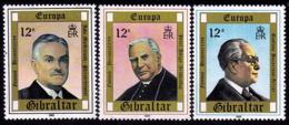Gibraltar - Europa CEPT 1980 - Yvert Nr. 407/409 - Michel Nr. 405/407  ** - 1980