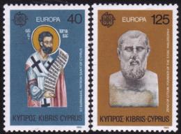 Chypre - Europa CEPT 1980 - Yvert Nr. 515/516 - Michel Nr. 520/521  ** - 1980