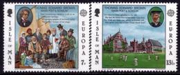 Ile De Man - Europa CEPT 1980 - Yvert Nr. 157/158 - Michel Nr. 164/165  ** - 1980