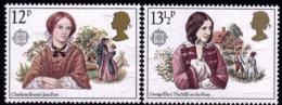 Grande Bretagne - Europa CEPT 1980 - Yvert Nr. 937/938 - Michel Nr. 841/842  ** - 1980