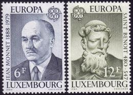 Luxembourg - Europa CEPT 1980 - Yvert Nr. 959/960 - Michel Nr. 1009/1010  ** - 1980