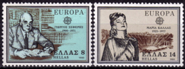 Grèce - Europa CEPT 1980 - Yvert Nr. 1389/1390 - Michel Nr. 1411/1412  ** - 1980