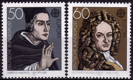 Allemagne - Europa CEPT 1980 - Yvert Nr. 893/894 - Michel Nr. 1049/1050  ** - 1980
