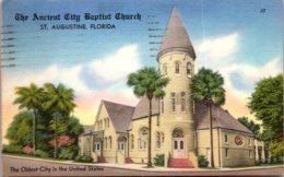 Florida St Augustine The Ancient City Baptist Church 1958 - St Augustine