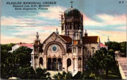 Florida St Augustine Flagler Memorial Church 1958 - St Augustine