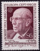 Autriche - Europa CEPT 1980 - Yvert Nr. 1481 - Michel Nr. 1652  ** - 1980