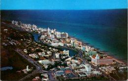 Florida Miami Beach Aerial View Looking North - Miami Beach