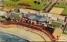 Florida Miami Beach MacFadden Deauville Hotel 1945 - Miami Beach