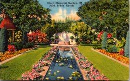 Florida Palm Beach Cluett Memorial Garden 1964 - Palm Beach