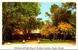 Florida Naples Caribbean Gardens Gatehouse And Gift Shop - Naples