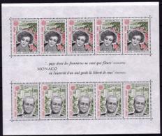 Monaco BF - Europa  CEPT 1980 - Yvert Nr. BF 18 - Michel Nr. Block 16  ** - 1980