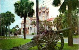 Florida St Augustine Flagler Mmemorial Church 1968 - St Augustine