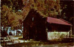 Florida St Augustine Nombre De Dios Mission Chapel 1955 - St Augustine