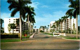 Florida Palm Beach Entrance To Palm Beach Towers - Palm Beach